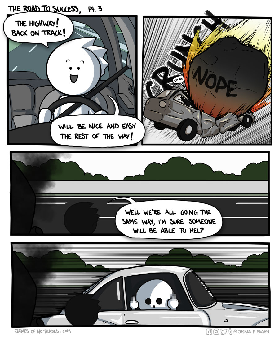 Sometimes a meteor hits your car. Nothing you can do about that.